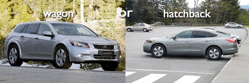 Wagon or hatchback