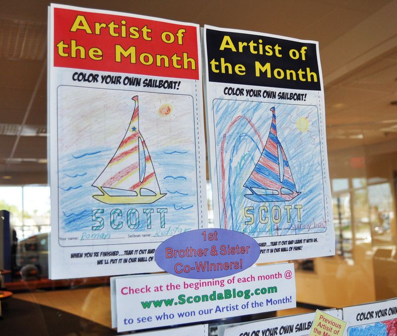 Artist of the Month - June 09 brother & sister