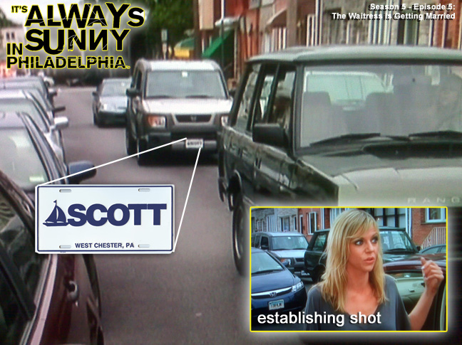 Scott Sailboat Spotted on - It's Always Sunny in Philadelphia